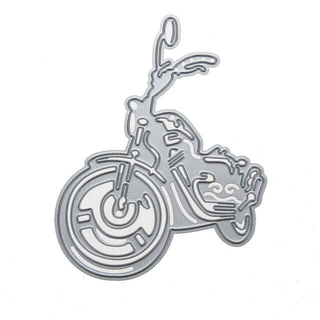 Motorrad Metall Stanzformen Motor Schablonen DIY Scrapbooking Album ...