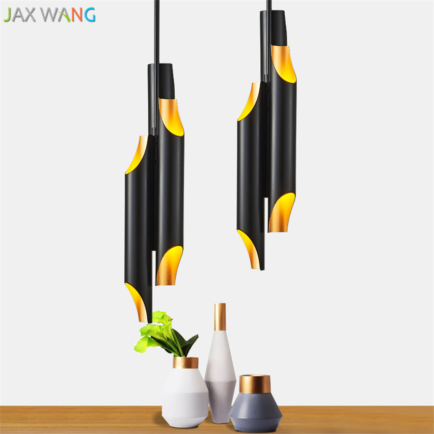 Nice Post-modern Minimalist Aluminum Pipe Pendant Lights Bamboo Hang Lamps Restaurant Designer G9 Led Lamp Kitchen Lighting Fixtures Neither Too Hard Nor Too Soft Pendant Lights