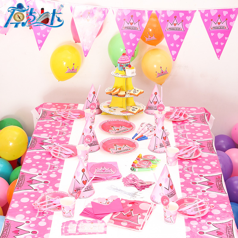 Mewah 78/90 pcs/lot Baru Anak Birthday Party Decoration ...