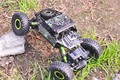 Coche Del RC Escala 1/18 2.4 Ghz 4CH RC Coche De Plástico Eléctrica juguete de control remoto 4wd cars competitivo buggy rock crawler rock escalador