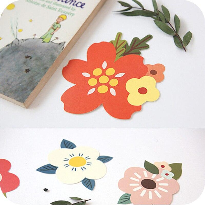 10 Stücke Kreative Blumen Segen Kleine Gruß Karte Nette Geburtstag Karten Geschenk Karten Dankbarkeit Karten Ruf Zuerst