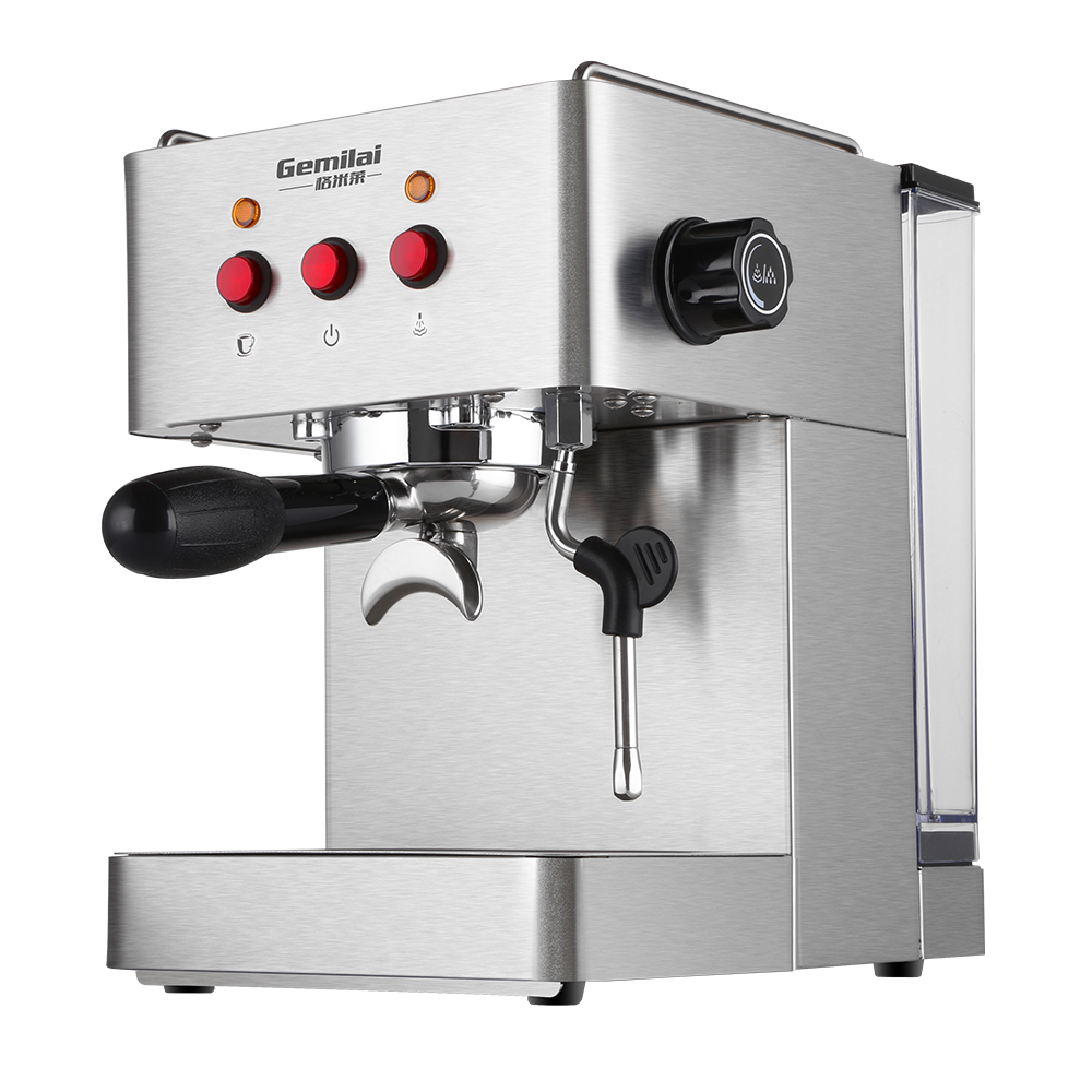15 Bar Espresso Coffee Maker Pressure Espresso Machine with Foam Semi-Automatic Italian Coffee Machine