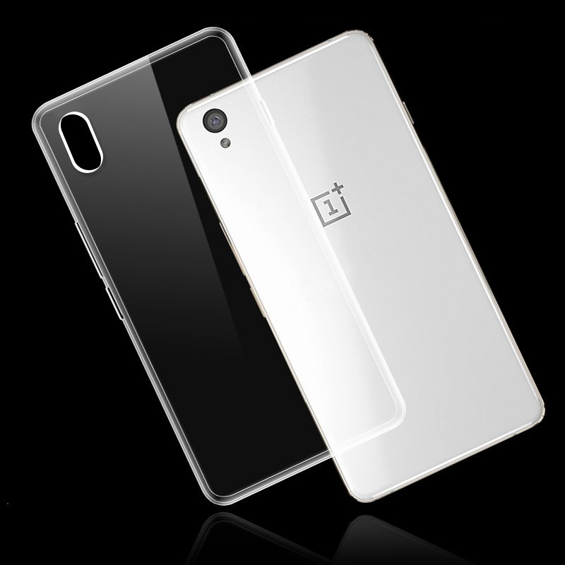 0.3mm Ultra Thin Transparent Clear Soft Silicon Cover For Oneplus X 5.0inch Protective Case for Case For One plus X High Quality