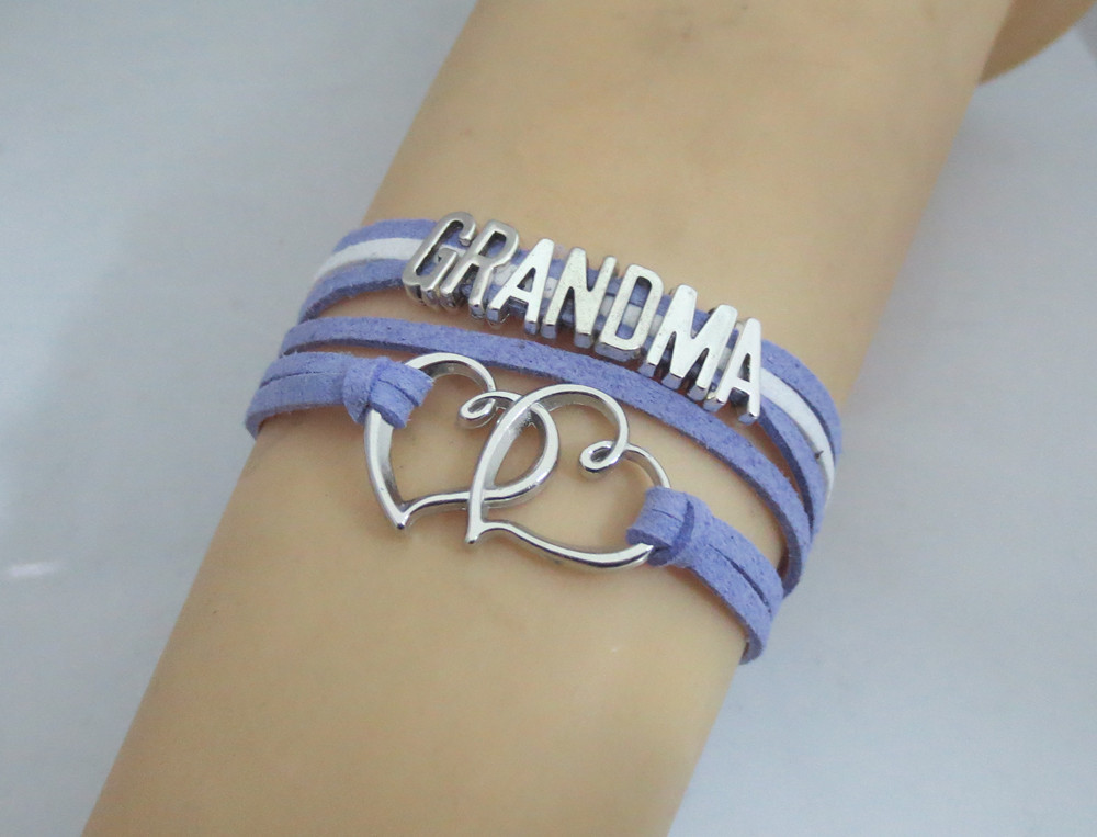 Fashion Grandma Bracelets Infinity Boys And S Love Bangles Charm Bracelet In From Jewelry Accessories