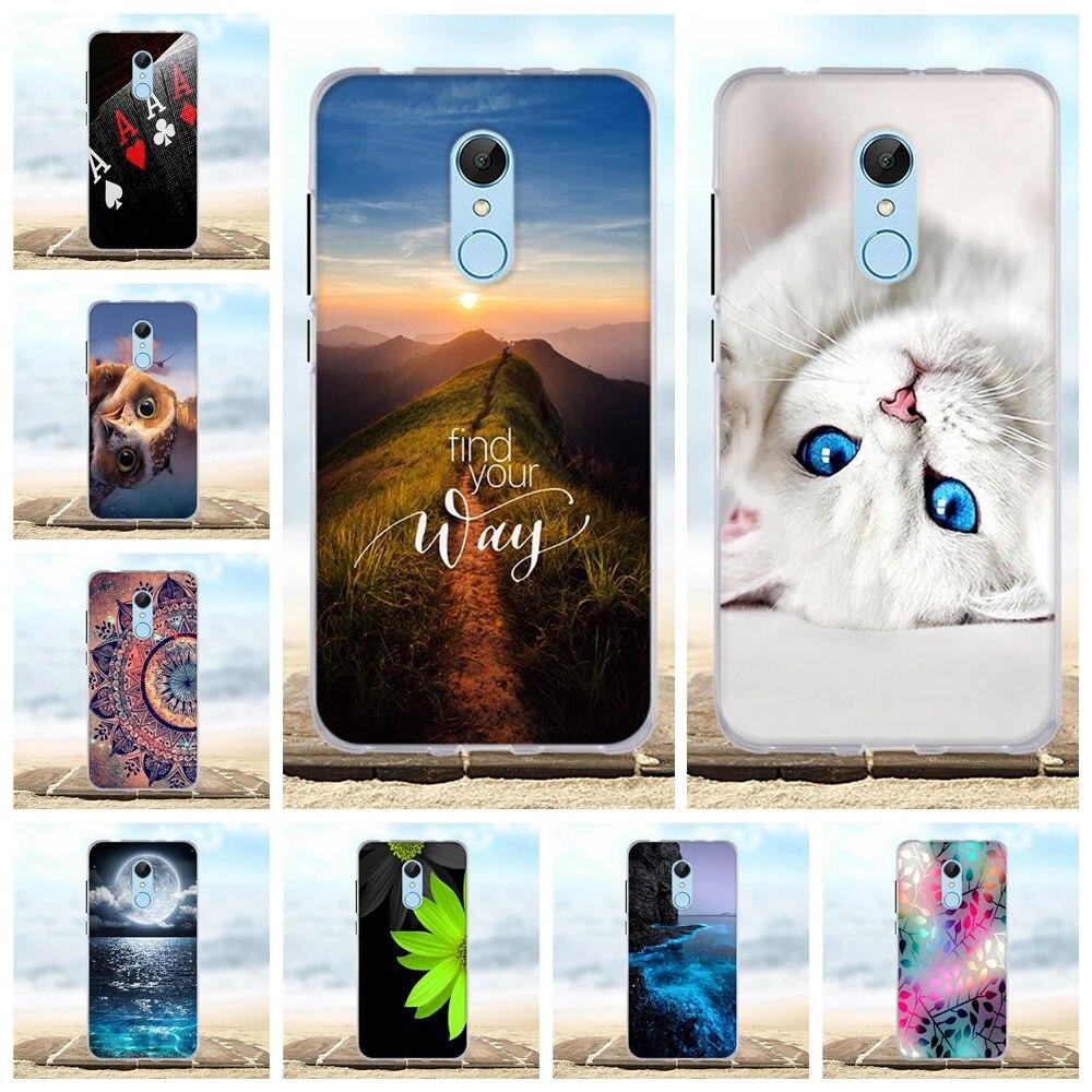 For Case Xiaomi Redmi 4A 5 5A 6A Silicone TPU Cover For Xiaomi Redmi 5 Plus Case 3D For Xiaomi Redmi 5 Plus Redmi5 Phone Cases