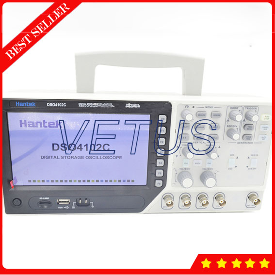 US $278 0 9% OFF|Hantek DSO4102C best automotive diagnostic scanner with  40K-in Oscilloscopes from Tools on Aliexpress com | Alibaba Group