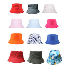 Hot New Summer Fishing Hunting Simple Unisex Bucket Hat Fashion Visor Holiday Boonie Cotton Men Women Camping Cap Travel Outdoor