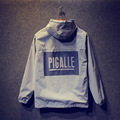 PIGALLE Jacket 3M Reflective Men Women Hip Hop Fashion Hoodie Outerwear Windbreaker Thick Jackets Coats PIGALLE Jackets 2016 New