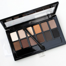 12 colors Pigment Bronzer Glitter Matte Eye Shadow Cosmetics Eyes Makeup eyebrow powder