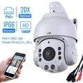 Sunba 2.0 mp 1080 p hd poe + 4.7 ~ 94.0mm com zoom óptico de 20x ir-cut night vision câmeras de segurança ip dome ptz ao ar livre onvif