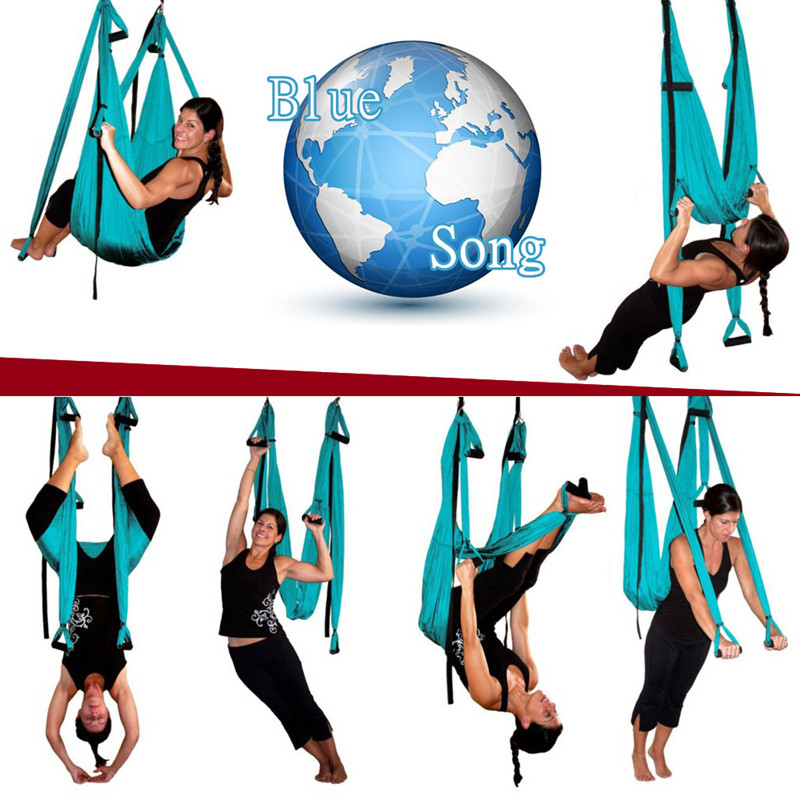 Yoga Belts Hot Sale Parachute Fabric Swing Inversion Therapy Anti-gravity Aerial Yoga Hammock Up-To-Date Styling