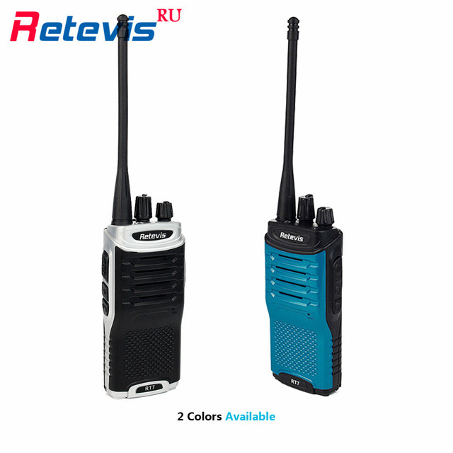 Retevis RT7 Walkie Talkie Радио 5 Вт КАНАЛОВ UHF 400-470 МГц Fm-радио сканер Портативный Радиолюбителей Кв Трансивер Handy 2 Рации Набор