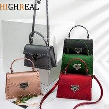 2018 Brand Women Messenger Bags Luxury Handbags Women Bags Designer Jelly Bag Fashion Shoulder Bag Women PU Leather Handbags