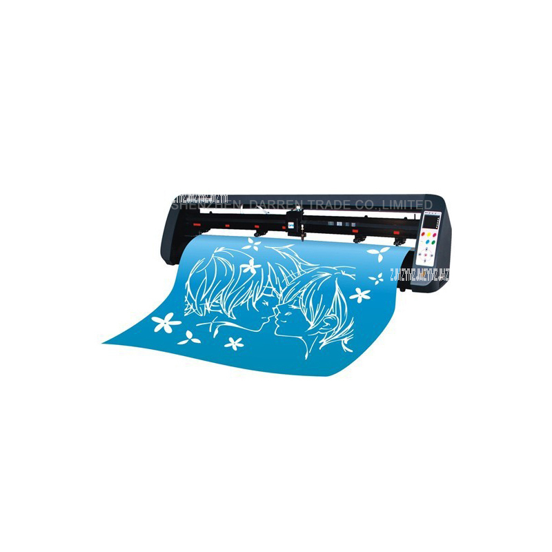 1pcs Contour cut cutting plotter / USB Vinyl cutter Mini Desktop Portable Cutting Plotter TH740 110v- 240v