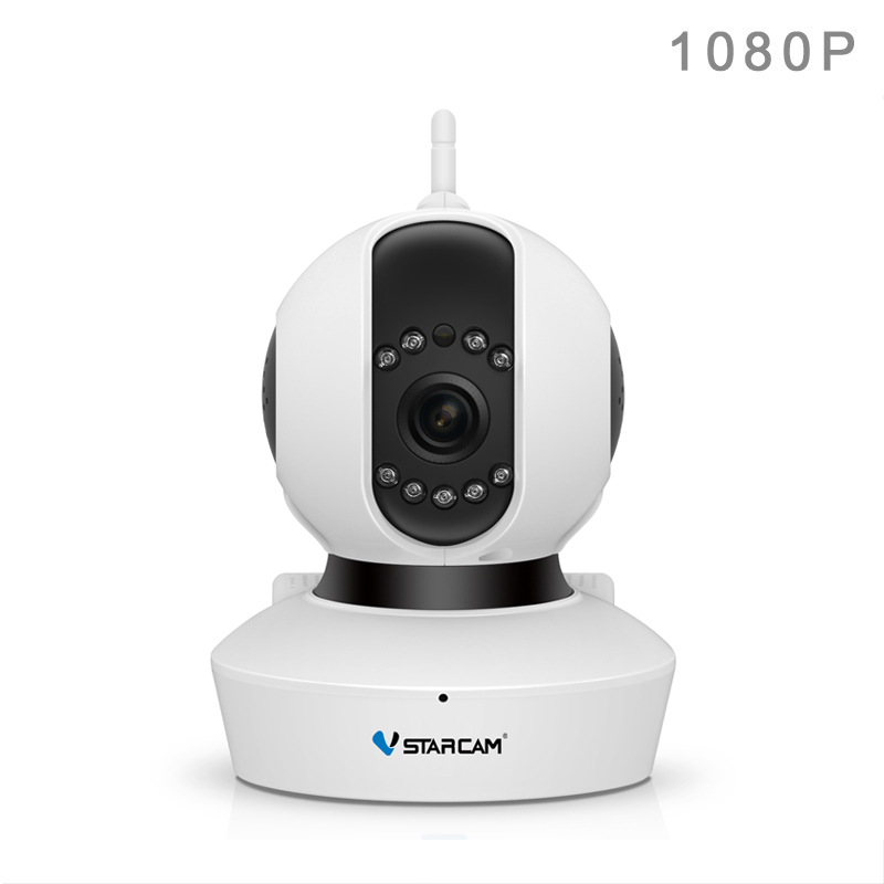 Vstarcam C23S Free Shipping 1080P IP Camera 2 MP FULL HD Wireless Webcam HD 1080P Infrared Security 128G SD Card Slot jeway jw 5329 high foot 1080p hd 2 0 mp usb computer webcam red black 130cm cable