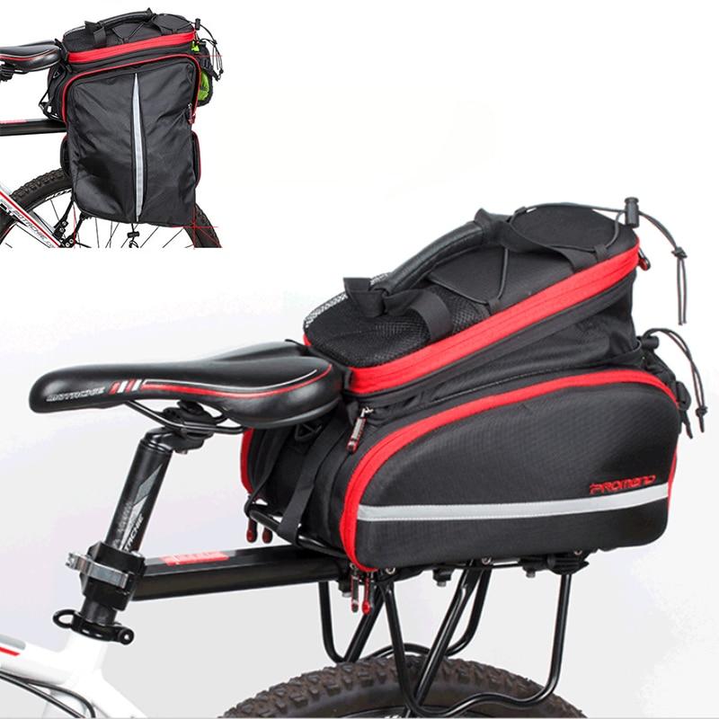 Windproof 10 35L Bicycle Rear Rack Bag Portable Cycling Shelf Utility Bags Climbing Riding Sports Bike