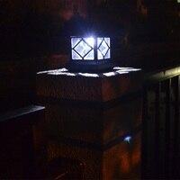 2 قطعة/الوحدة لوحة led بالطاقة الشمسية الإضاءة الشمسية حديقة ساحة الديكور ضوء المسار الأضواء الشمسية مصابيح