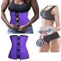Cintura látex cincher Treino látex trainer Cintura corsets 4 ossos de aço espartilho emagrecimento Cintura redutor