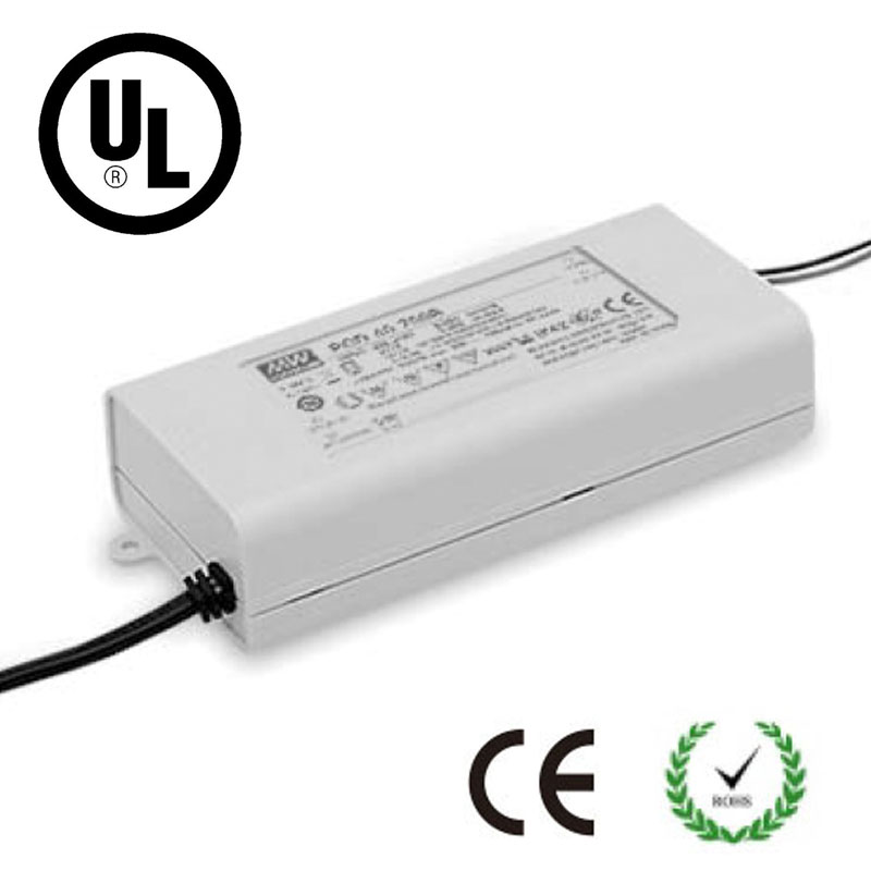 CE UL IP42 60W Triac Dimmable LED Driver DC 500/700/1050/1400/1750/2000/2400mA Power Supply Dimming Transformer Regulator kvp 24200 td 24v 200w triac dimmable constant voltage led driver ac90 130v ac170 265v input