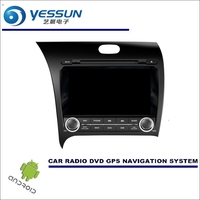 YESSUN Car Android Navigation System For KIA Cerato 2012~2016 LHD Radio Stereo CD DVD Player GPS Navi BT HD Screen Multimedia