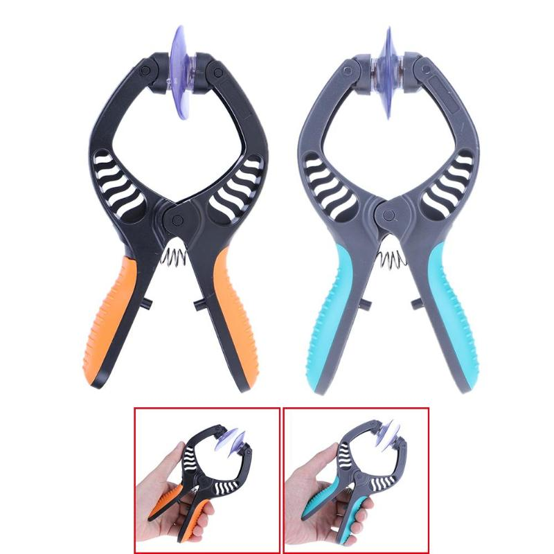Mobile Phone Repair Tools Suction Cup LCD Screen Sucker Opening Tools Double Separation Clamp Plier Repair Tools for iPhone iPad