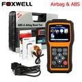 Scanner automotivo original foxwell nt630 automaster pro abs srs airbag air bag acidente de redefinição de dados ferramenta de diagnóstico do carro