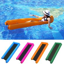 Float-Bed Lounger Pool Beach-Chair Swimming-Pool-Sea Portable Recliner