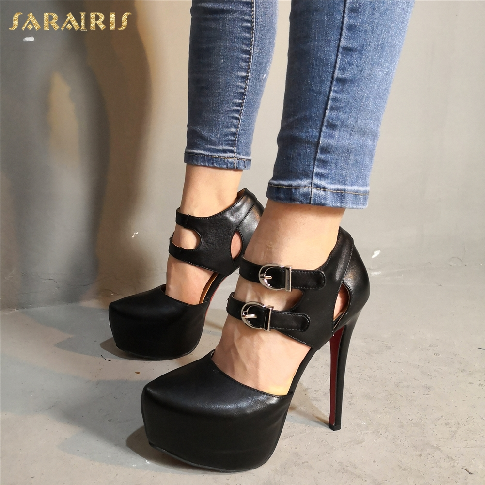 SARAIRIS Luxury Sexy Large Size 34-47 Round Toe Platform Party Nightclub Woman Shoes High Heels Gladiator Shoes SandalsSARAIRIS Luxury Sexy Large Size 34-47 Round Toe Platform Party Nightclub Woman Shoes High Heels Gladiator Shoes Sandals