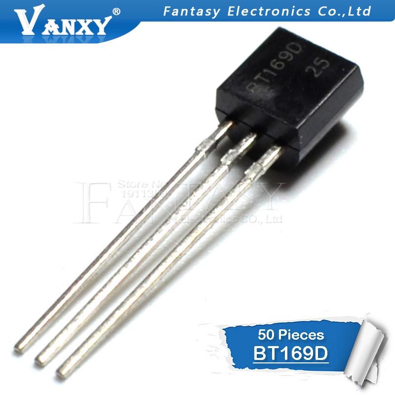 50PCS BT169D TO92 BT169 TO-92 169D New  Voltage Regulator IC