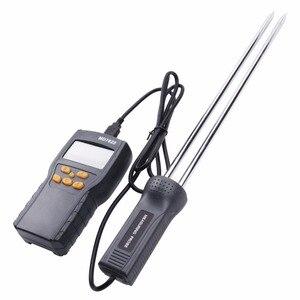 Image 4 - MD7822 Digitale Graan Vochtmeter Voedsel Thermometer Vochtigheid Hygrometer Analyzer water Damp Detector Tester