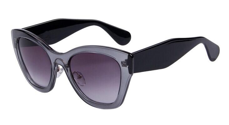 Бренд MERRY'S Butterfly очки модные солнцезащитные очки женские солнцезащитные очки «кошачий глаз» высокое качество Oculos UV400 - Цвет линз: C03 Gray