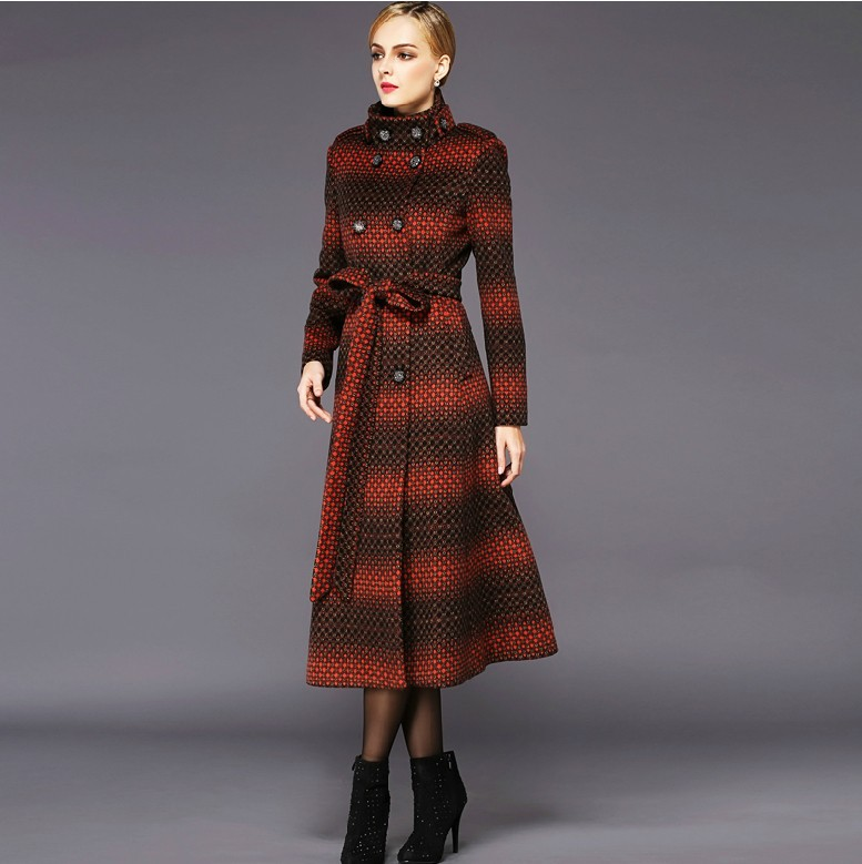 Cheap womens wool coats, Buy Quality wool long coat directly from China coat elegant Suppliers: Autumn winter new fashion women's wool coat double breasted coat elegant bodycon cocoon wool long coat tops LU Enjoy Free Shipping Worldwide! Limited Time Sale Easy Return/5().