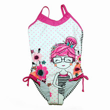2017 Swimming Suit for Kids Girl One Piece Swimsuit Swim Suit Children Girl Bathing Suit Baby Swimsuit Cartoon Designer Swimwear