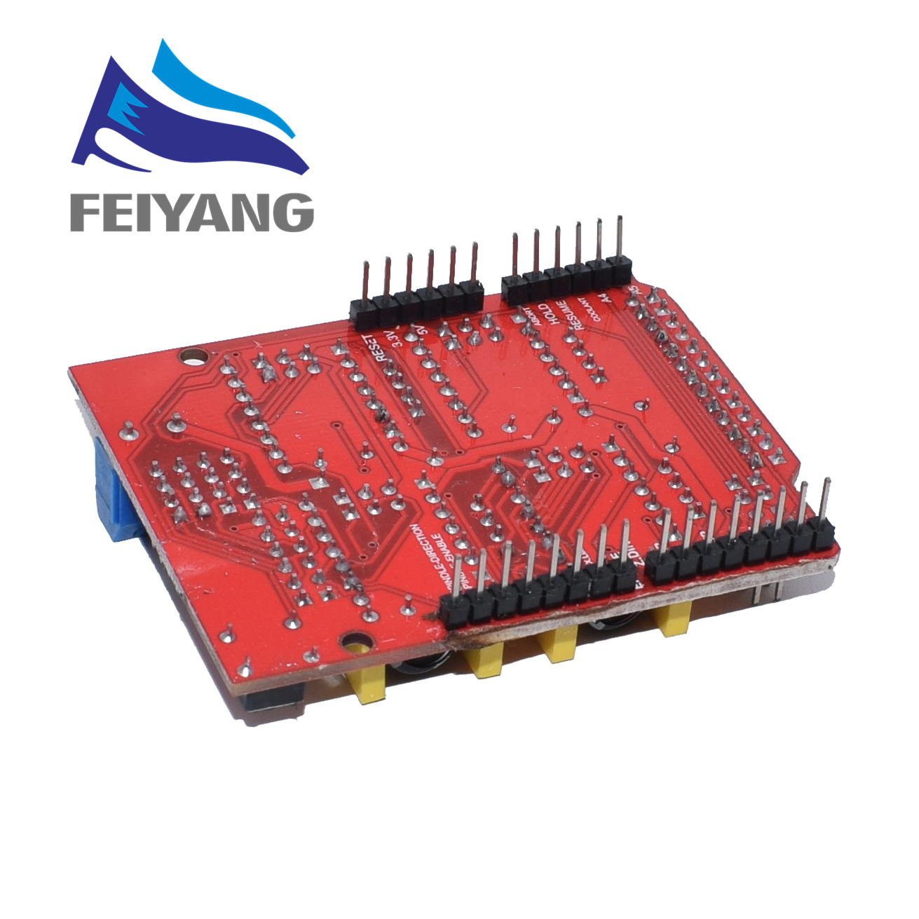 Image 5 - New CNC Shield V4 shield v3 Engraving Machine / 3D Printer / A4988 Driver Expansion Board for arduino Diy Kit-in Integrated Circuits from Electronic Components & Supplies