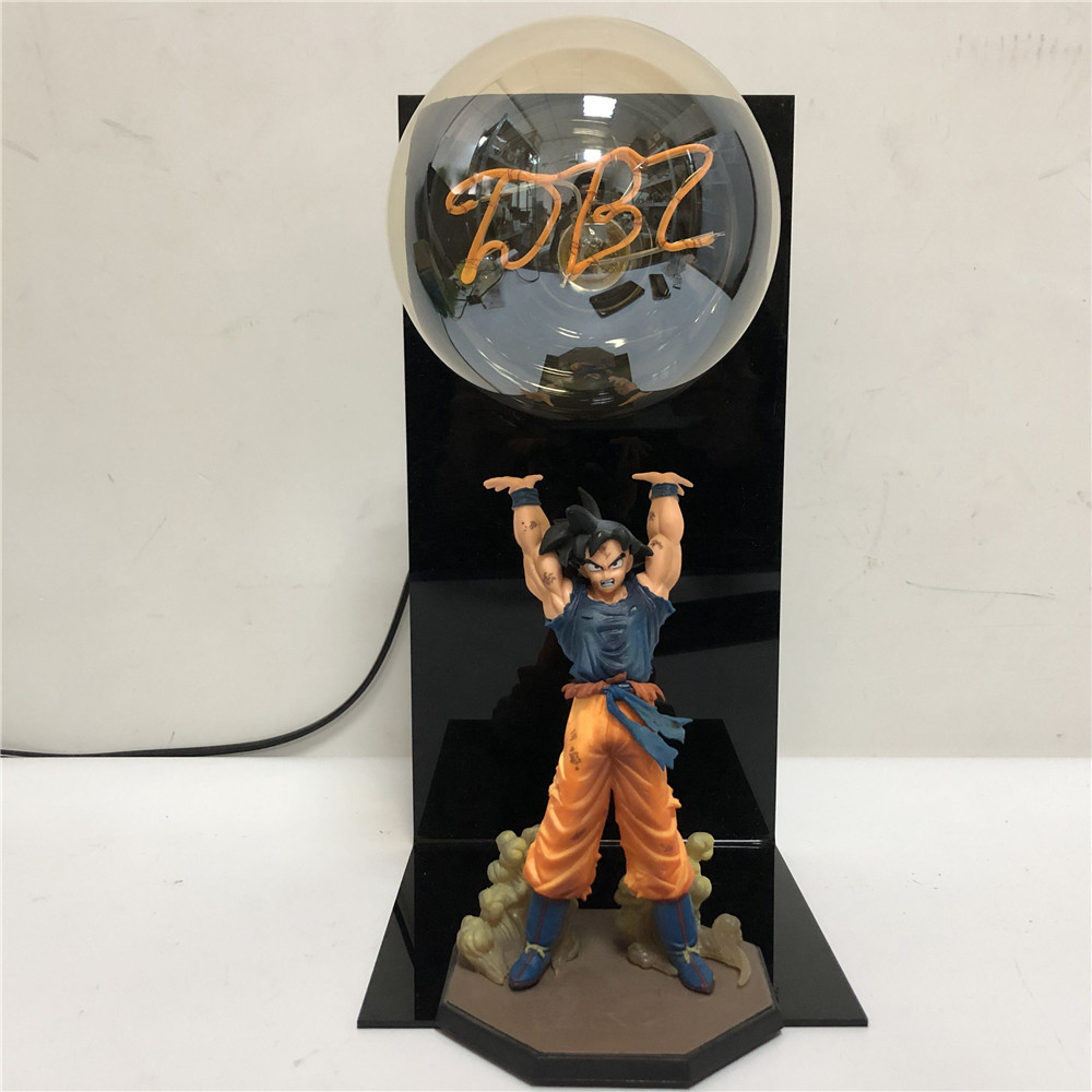 Led Lamps Led Night Lights Trustful Dragon Ball Z Broli Saiyan Evolution Led Night Light Figures Anime Dragon Ball Super Broli Movie Goku Model Toy Figurine Dbz