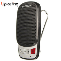 Liplasting Durable Portable Wireless Bluetooth 3 0 Sun Visor Clip Handsfree Speakerphone Car Kit With USB