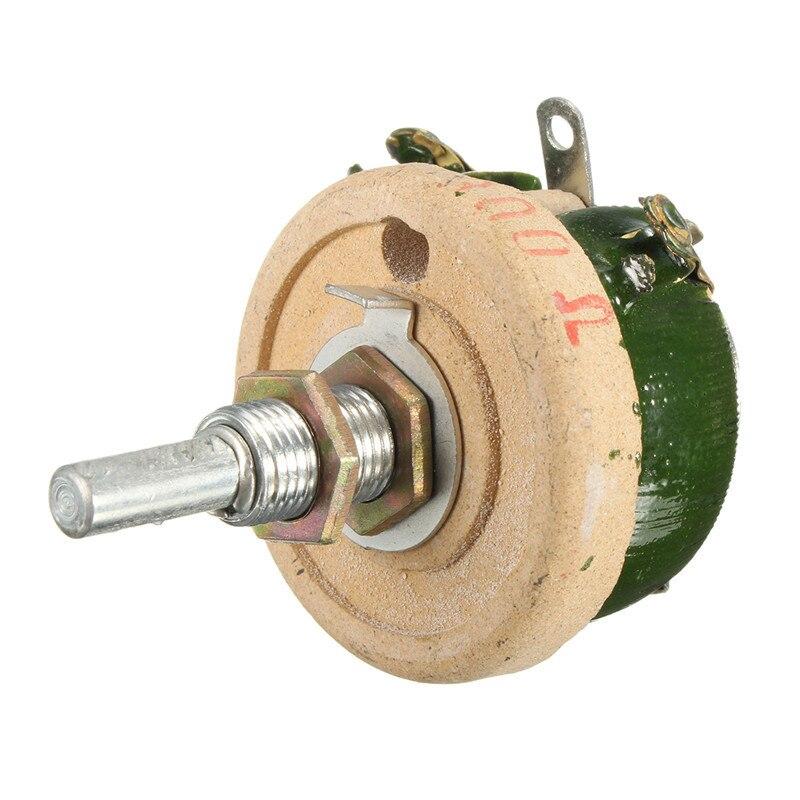 25W 150 Ohm Wirewound Potentiometer Power Rheostat Variable Resistor