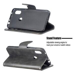 Image 5 - Винтажный чехол из искусственной кожи для Xiaomi Redmi 7 Note 7 6 Pro 5 Plus 6a A2 lite, бумажник, откидная подставка, отделения для карт, магнитная застежка