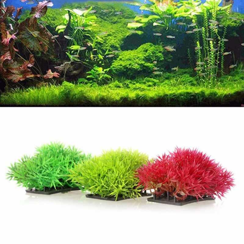 New Grass Aquarium Decoration Water Weeds Ornament Plastic Plant Fish Tank Decor