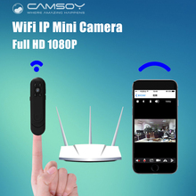 Wi-Fi IP мини Камера карман 1080 P 720 P HD ручка Камера Широкий формат 140 градусов голос видео Регистраторы P2P мини DV DVR видеокамера kamera