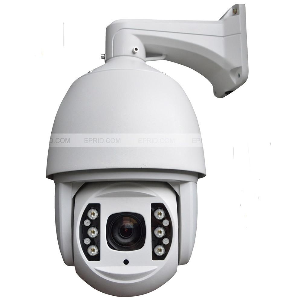 6 pouces 5 mégapixels h.265 ip ptz vitesse dôme extérieur IP66 étanche caméra