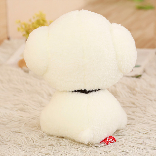 1PCS 25 30 50CM simulation Bichon Frise dog plush toy cute soft stuffed animal kids toys