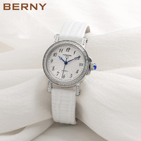 Berny Women Watch Automatic Mechanical Lady Watches Fashion Top Brand Luxury Relogio Montre Saat Feminino Bayan JAPAN MOVEMENT