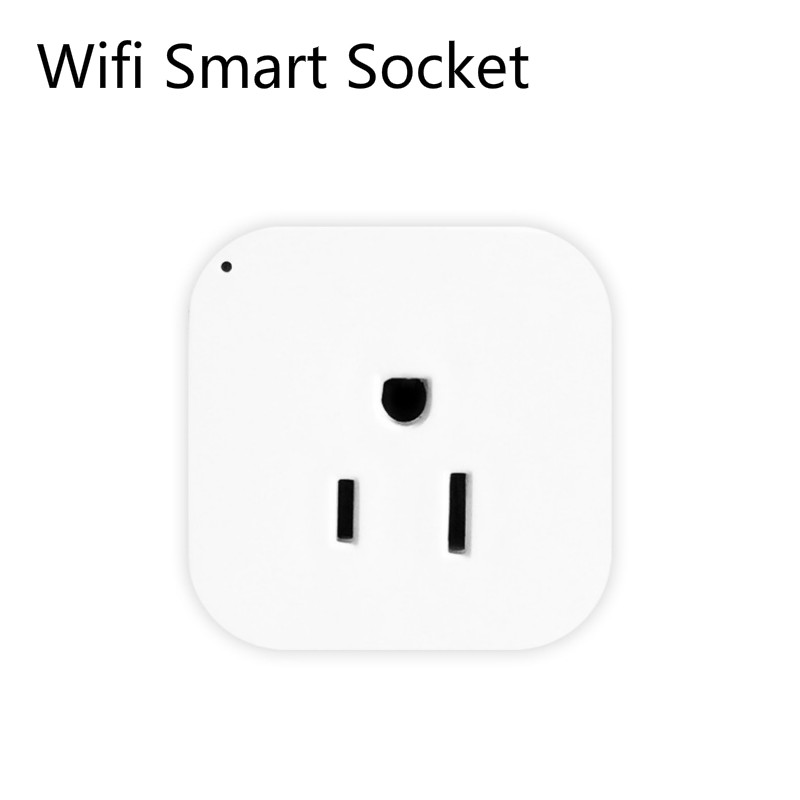 Image 3 - 2pcs pack WiFi Smart Socket US EU Plug WiFi Version Wireless Remote control Socket Adaptor Power on off with phone Alexa google-in Mobile Phone Chargers from Cellphones & Telecommunications