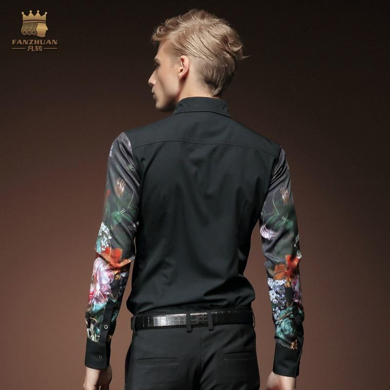 Gratis frakt Ny mode avslappnad mäns personlighet manlig koreansk - Herrkläder - Foto 2