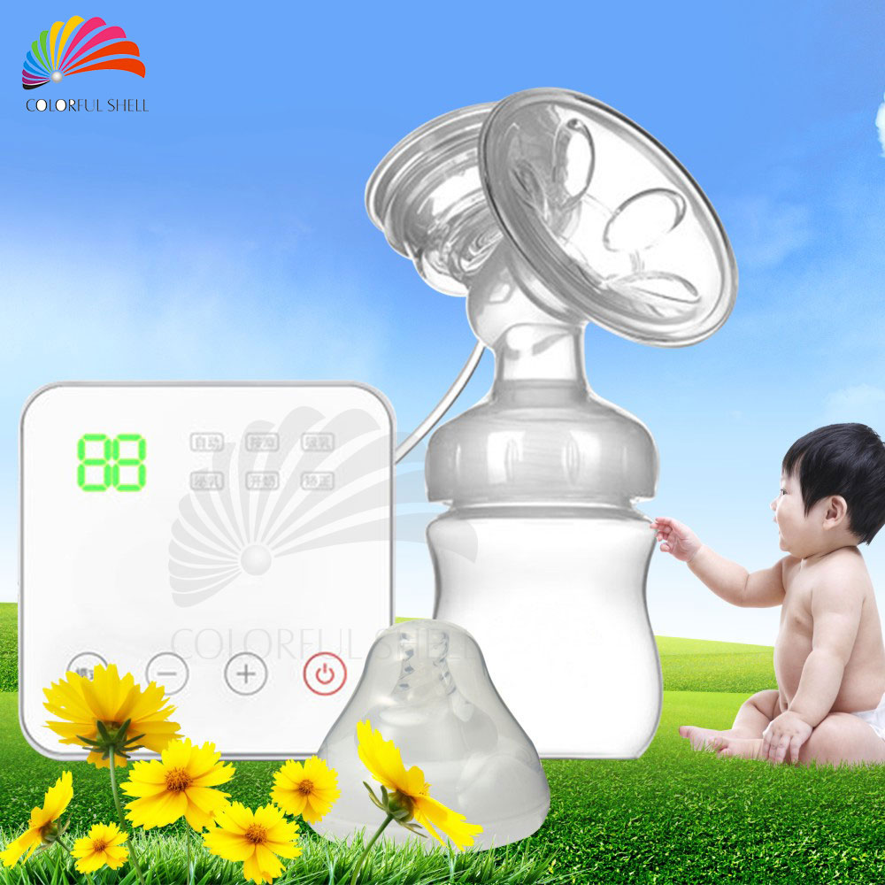150ML USB Electric Breast Pump Baby BPA Free Postpartum Breast Feeding Suckers Single Milk Pumps Bomba De Leite Two Modes