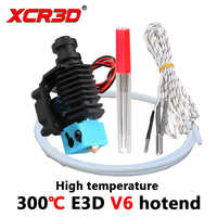 XCR-BP6 3D Printer Parts high temperature E3D V6 Hotend J-head ABS nylon PETG high temperature material Heater printing head