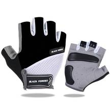 Arbot Bicycle Gloves Fitness Half Finger Cycling Glove Female Silicone Gel Anti-Slip Summer Breathable MTB Mittens Lycra M L XL