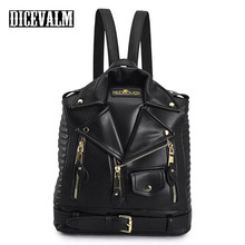 Famous Brands Women Backpack Leather Black Backpack School Bags For Teenage Girls Travel Backpack Female Suit Shoulder Bags