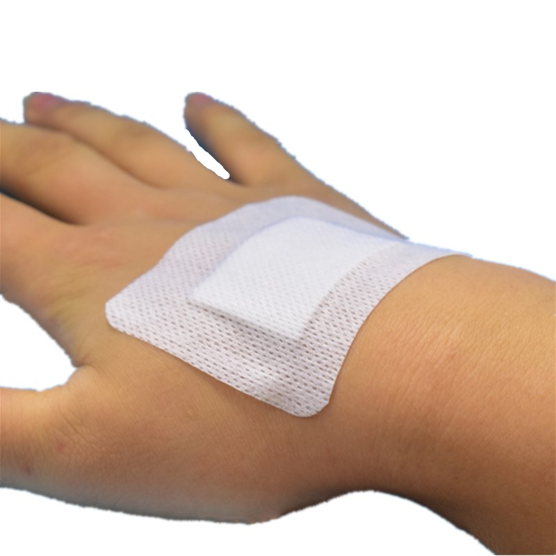20 Pcs 6cmX7cm Large Size Non-woven Medical Adhesive Wound Dressing Hypoallergenic Band Aid Bandage First Aid For Home Outdoor